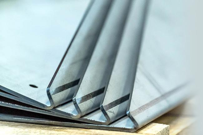 image d'une réalisation de pliage métal Lasermetal
