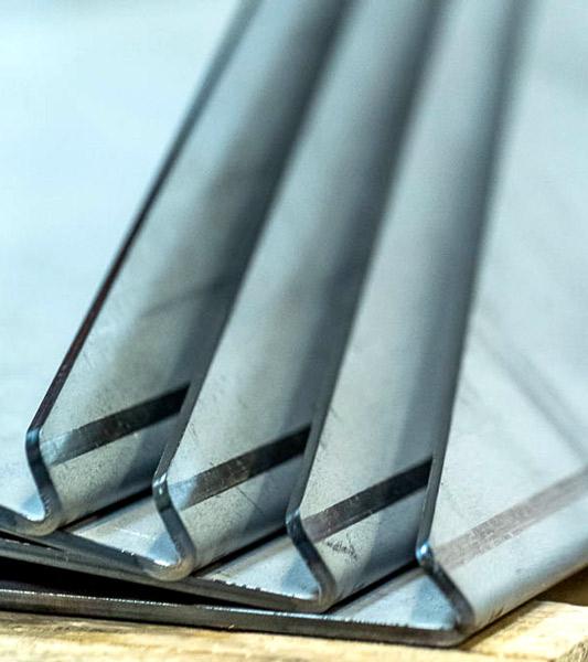 image d'une réalisation de pliage de métal